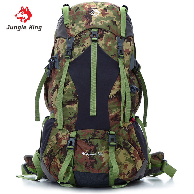 Jungle King Outdoor Backpack Women Men Package Travel Bags Hiking Climbing Backpack Nylon Waterproof High Quality Big Capacity locallion brand 40l outdoor sports backpack for hiking camping climbing fishing women men waterproof nylon big knapsack xa562yl