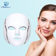 LED Facial Mask Photon Light Therapy Skin Whiten Rejuvenation Moisturizing Anti Aging Removal Wrinkle Care Device Drop Shipping