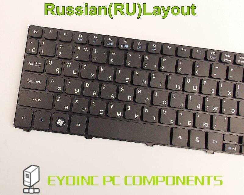 NEW Acer Aspire 5560 5560G 5625 5625G 5745 5745G 5745 laptop Keyboard RU клавиат