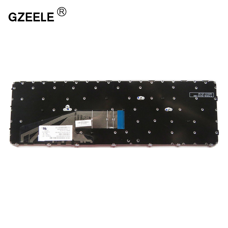 Image 3 - GZEELE Russian Keyboard for HP ProBook 450 G3 , 455 G3 , 470 G3 RU Black laptop keyboard-in Replacement Keyboards from Computer & Office on