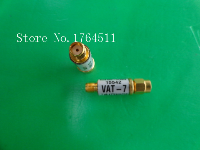 [BELLA] MINI VAT-7 DC-6GHz 7dB 1W SMA Coaxial Fixed Attenuator  --5PCS/LOT
