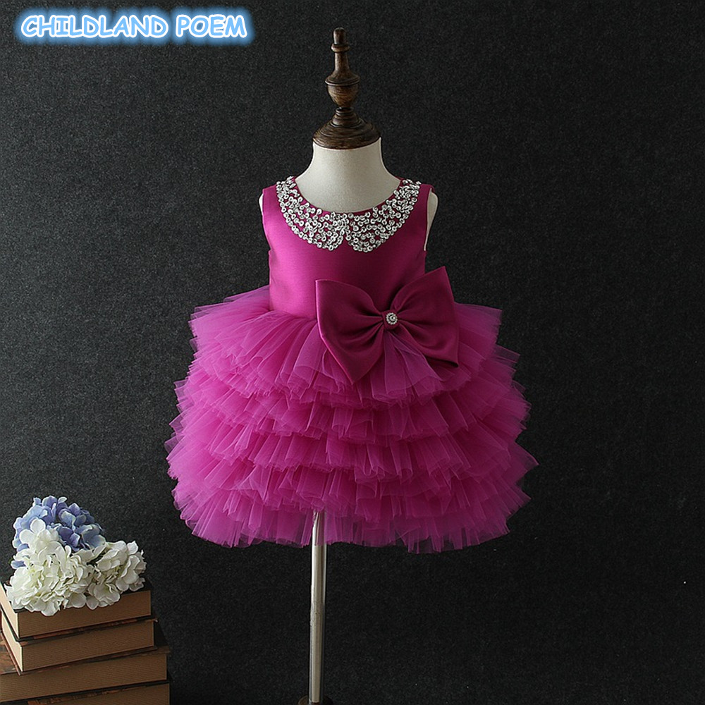 baby first 1st birthday dress newborn infant baby girls