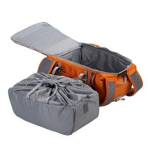 Image 3 - Kostenloser Versand Großhandel Original Lowepro Flipside Sport 20L AW DSLR Foto Kamera Tasche Daypack Rucksack Mit All Weather Cover