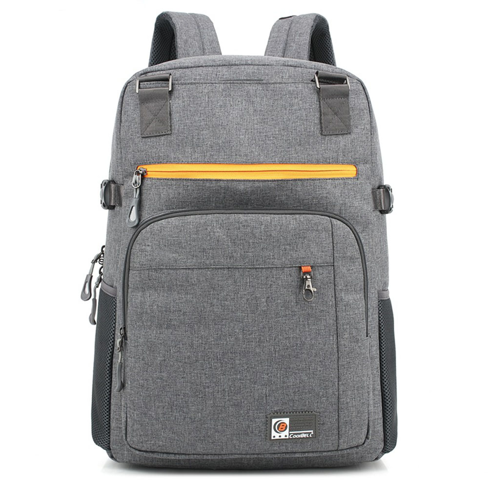 Coolbell Waterproof Shockproof 10 to 17.3 Inch Laptop Business Backpack 2017 Casual School Travel Bag for Macbook ASUS Lenovo HP brand coolbell for macbook pro 15 6 inch laptop business causal backpack travel bag school backpack