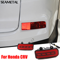 Автомобиль для укладки Анти Столкновения Автомобиля Сигнальная лампа Туман Светодиодные Лампы Авто Тормозная Парковка Сигнальные Индикаторы Для Honda CRV CR-V 2015 2016