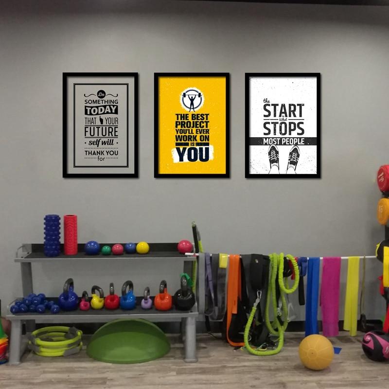Home Gym Wall Art