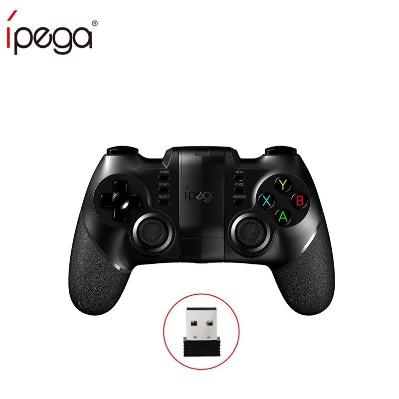 Ipega PG PG-9076 9076 Joystick Gamepad Controlador Do Jogo Do Bluetooth 2.4G Receptor Sem Fio ios Android Jogador Do Jogo Do Console