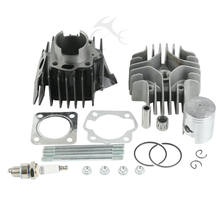 Brand New Big Bore Cilindro Pistone Guarnizione Kit Per Suzuki JR50 50cc 1978-2006 05 88 89 98 95 96 2001 2002 2003 2004 2005(China)
