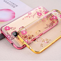 SK HQ Gold Clear Soft Bling TPU Cover Case for Huawei GX8 GX 8 RIO-L01 RIO-L02 RIO-L03 RIO-AL00