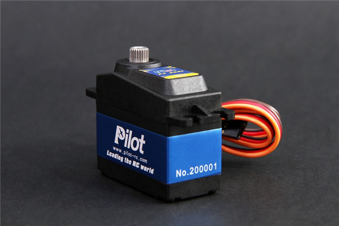 Pilot High Torque Titanium Gear Digital Servo PY-20AL amazing high torque and high end servo fast powerfull waterproof ideally designed to use in r c cars
