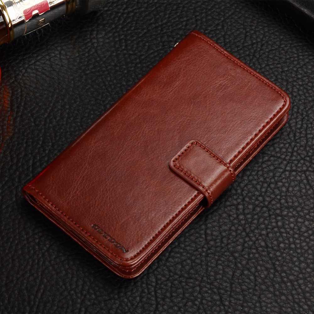 GUCOON Vintage étui portefeuille pour Beeline Pro 2 4.5 pouces PU cuir rétro Flip couverture magnétique coques tendance béquille sangle