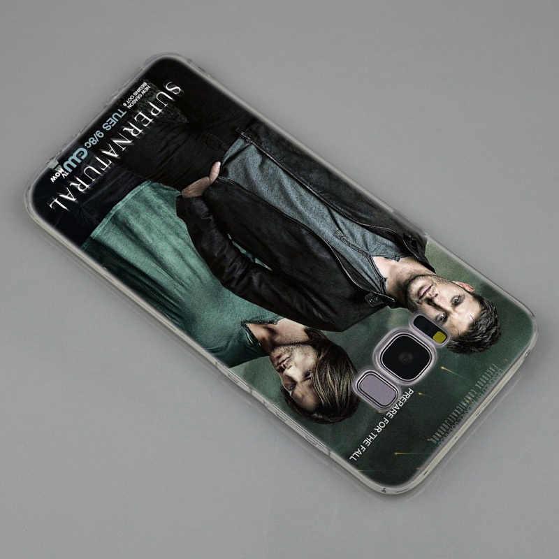 ТВ сверхъестественный силиконовый чехол для samsung Galaxy Note 10 Plus S8 S9 S10 Plus 5G S6 S7 Edge S5 S10e Note 5 Модный чехол