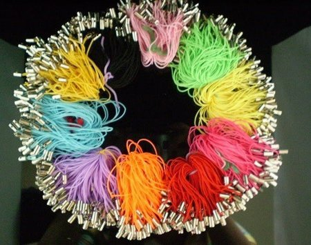 Mix Color Silk Mobile Phone Cell Phone Strap Cord 3000pcs/lot, 100pcs/pack+Gift&Free Shipping