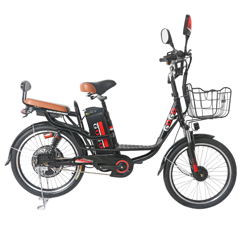 Electric Bicycle For Sale >> Us 953 17 30 Off Hot Sale Electric Bike 20 And 22 Inch Electric Bicycle Removable Battery Ebike 48v Shock Absorbing Electric Scooter In Electric