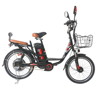 Hot sale electric bike 20 and 22 inch electric bicycle Removable battery ebike 48v shock absorbing electric scooter