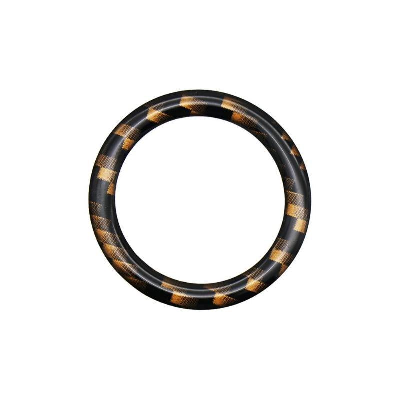 Двигатель автомобиля кнопка старт/стоп декоративное кольцо, Накладка для BMW 1/3/5 серий E87 E90 E60 320 автомобильные аксессуары интерьера Молдинги - Название цвета: 4