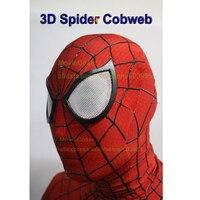 Effetto 3d di qualità eccellente materiale elastico super hero film di spider man 2 cosplay costume cosplay head maschera maschera viso
