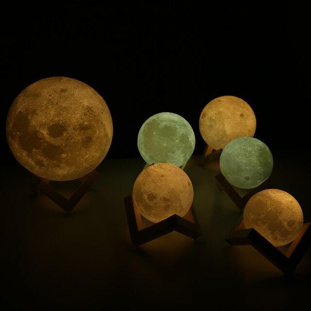 Original 3D Moon Lamp 5