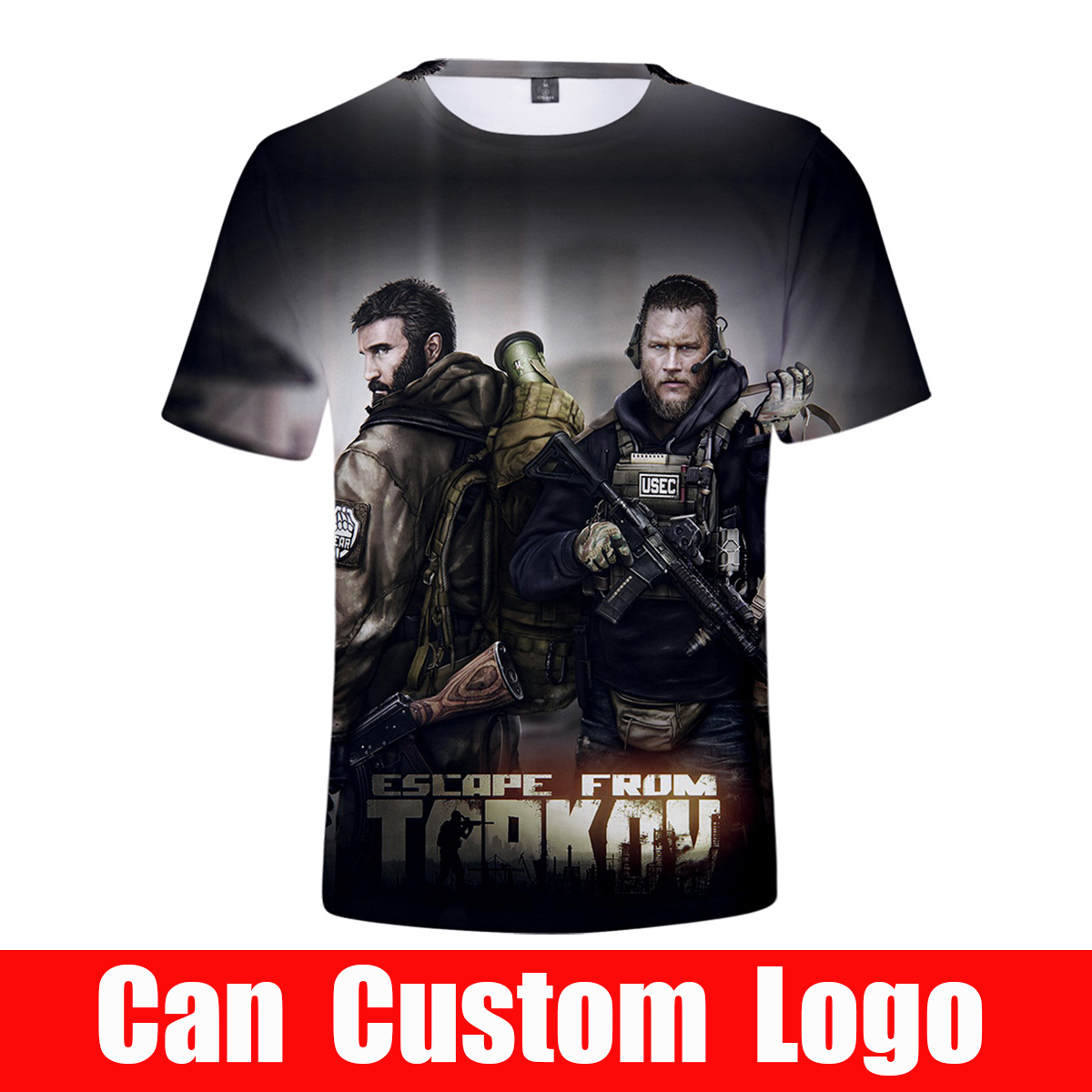 Escape from Tarkov 3D Man Tops Short Tee Hot Game Costumes 2019 new arrival T-shirts for Man(China)