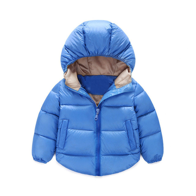 2016 New Leisure Kids Toddler Boys Jacket Coat & Jackets Children Boys Girls Zipper Jacket Coat Girls Boys Winter Windbreaker