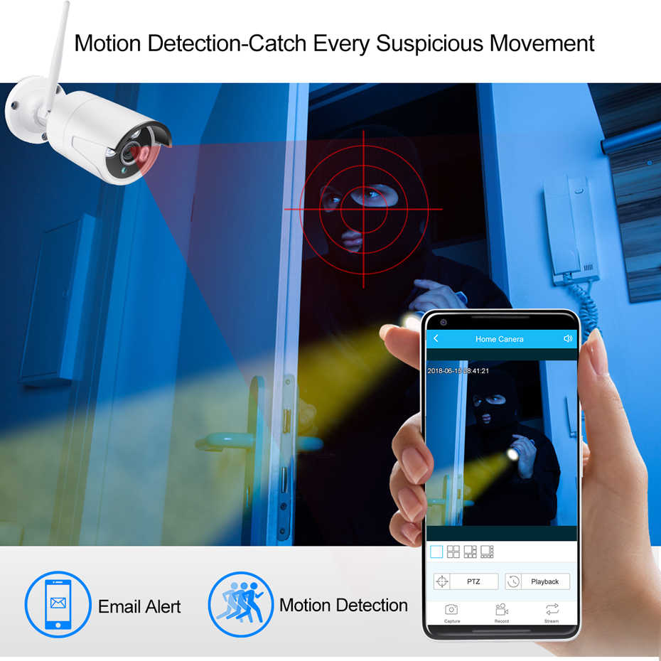 """Techege 4CH беспроводной 1080 P NVR комплект HD 12 """"ЖК-монитор 4CH wifi NVR безопасность 2MP аудио wifi камера CCTV система приложение дистанционное управление"""