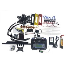 F05114-AV Full Set RC Drone Aircraft Kit F550 Hexa-Rotor Air Frame GPS APM2.8 Flight Control Camera Gimbal PTZ