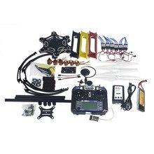 F05114-AV Full Set RC Drone Aircraft Kit F550 Hexa-Rotor Air Frame GPS APM2.8 Flight Control Camera Gimbal PTZ
