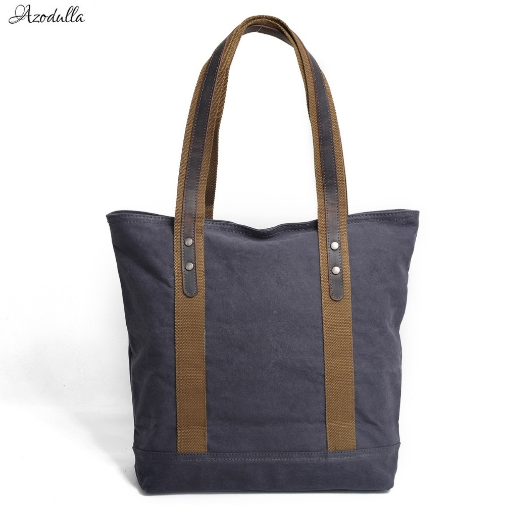 M061 Pure Color High Quality Canvas Women Handbag Design Famous Brands Women Bag Female Tote Lady Luxury Women Shoulder Bags