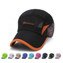 Verano transpirable estilo rápido seco R gorras de béisbol de las mujeres  de los hombres de e7b6d263fb7