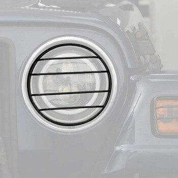 Jeep Stoßstange Wache | Für 1997-2006 Jeep Wrangler TJ Unbegrenzte Zubehör Schwarz Front Stoßstange Blinker Licht Scheinwerfer Seite Marker Lichter Schutz Abdeckung