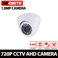 HKIXDISTE New AHD Camera 720P CCTV Security AHDM AHD-M Camera HD 1MP IR-Cut Nightvision Indoor Camera 1080P LENS