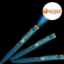 LED logo projector pen LED projector pen Ballpoint Pen at Cheap price for promotional gifts 200pcs/lot
