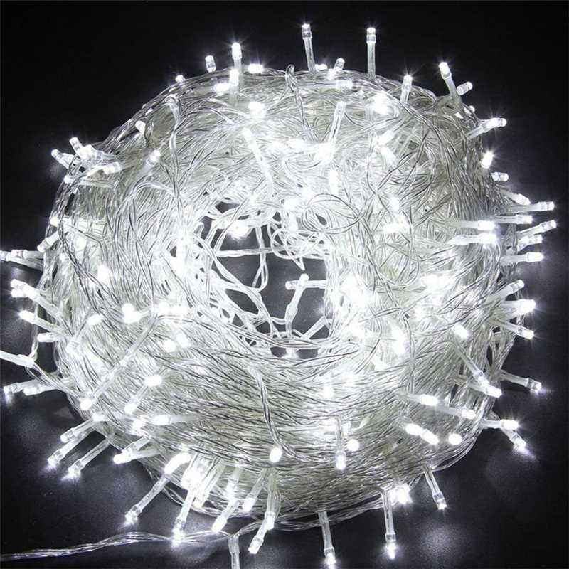 6m 10m 20m 30m 50m Christmas Wedding Party Fairy Decorative Lights Lamp Waterproof Twinkle Star Plug In String Lights