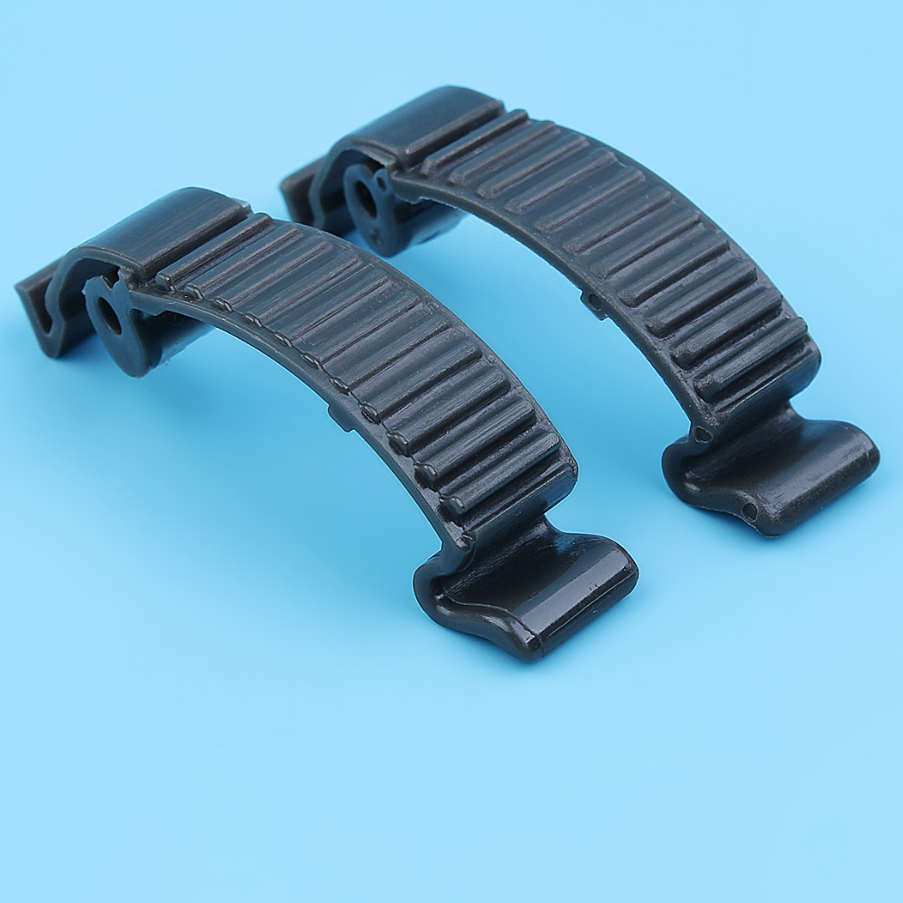 2Pc Top Engine Cover Buckle Clip Holder For Husqvarna 435,445,450,445E,450E, 570 575 576 XP,357 359 555 455 Rancher II Chainsaw