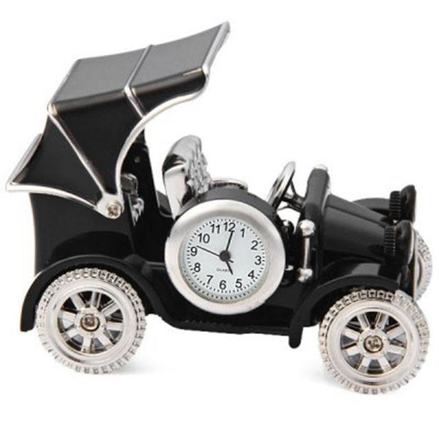 2016 Archaize locomotiva do vintage mudo relógio de mesa de decoração para casa crianças relógios relogio despertador eletrônico