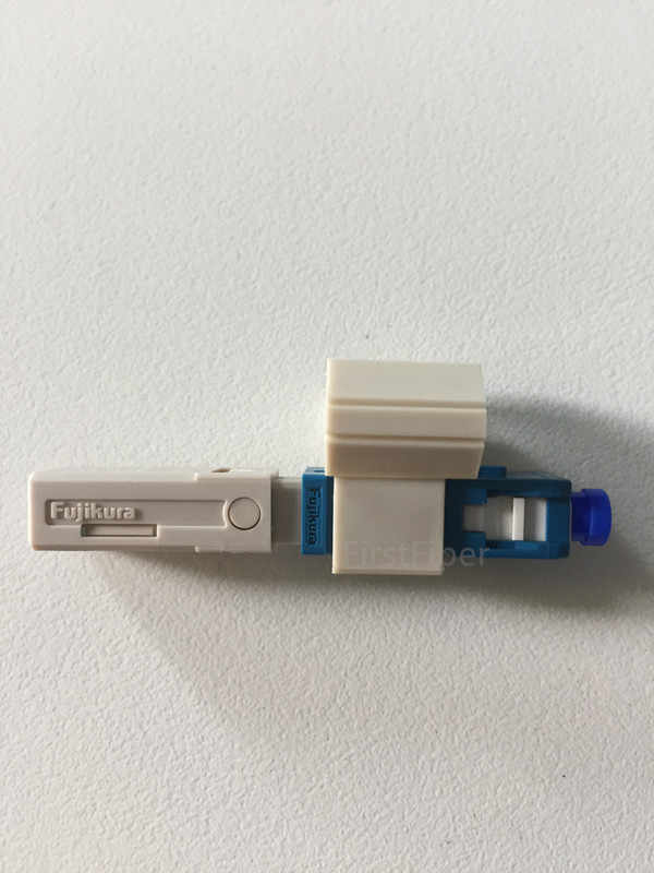 Fujikura originale SC APC/UPC veloce connettore SC adattatore Freddo Connettore Rapido FTTH SC Singola Modalità UPC Veloce Connector
