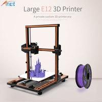 Anet E10 E12 Autolevel A6 3D Printer Kit High Precision Large Printing Size Desktop Reprap DIY