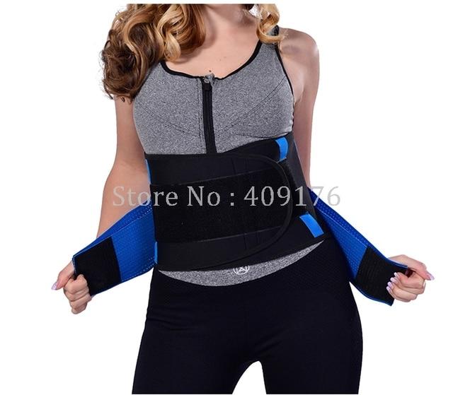 Sweat Waist Belt PRAYGER Belly Belt Body Shaper Slimming Waist Trainer Girdle Back Supportor Beer Belly Waist Cinchers 3