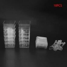 купить Humanized Disposable Hard Plastic Cube Dessert Cup With Spoons Lids Wedding Party Birthday по цене 345.2 рублей