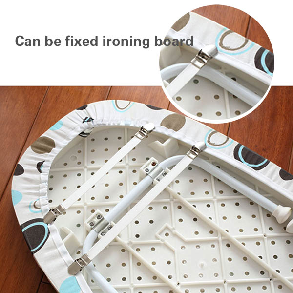 Greenwell designs Adjustable Bed Sheet Fasteners Grippers Suspenders/Ironing Board Cover