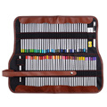 Lápices de colores de arte fino Marco Rafina 72 colores + juego de borrador de goma + bolsa de lápiz de lona lavable enrollable fácil transporte