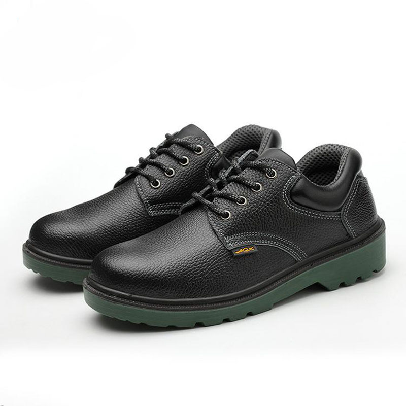 Safety Shoes Cap Steel Toe Safety Shoe Boots For Man Work Shoes Men Waterproof Size 12 Black Footwear Wear-resistant YXZ012 image