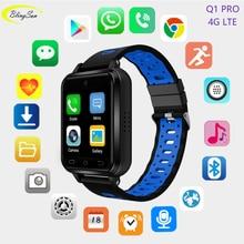 Купить с кэшбэком 4G smart watch Men Kids MTK6737 Android 6.0 1GB/8GB relogio inteligente SmartWatch Q1 Pro 720mAH for iOS Android Samsung Xiaomi