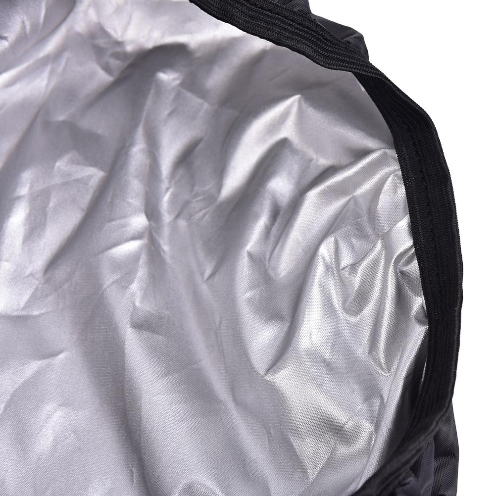 Waterproof Bicycle Seat Cover Elastic Rain Dust Resistant Cover Outdoor Hot R6N4