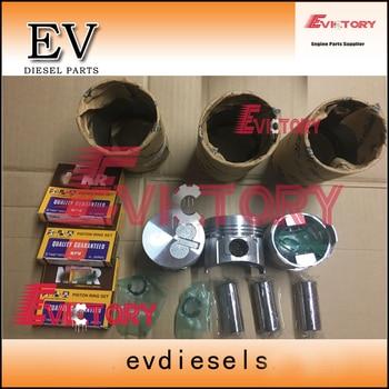 For yanmar engine rebuild kit 3D72E 3TNE72 3TNA72 3TN72E Piston+ring+liner+full cylinder head gasket