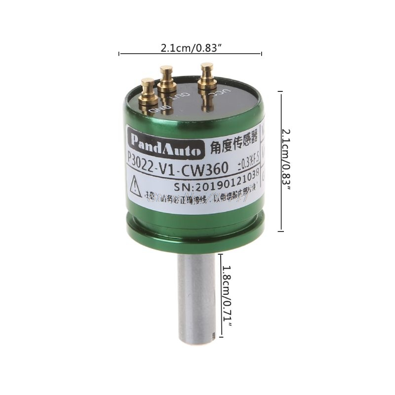 Image 5 - DC 5V Hall Angle Sensor Non contact Industrial 0 360 Degree Rotation Angular displacement Sensor-in Sensors from Electronic Components & Supplies