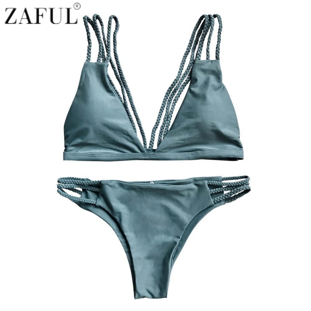 brazilian cut bikinis zaful bikini set summer swimwear biquini women sexy beach