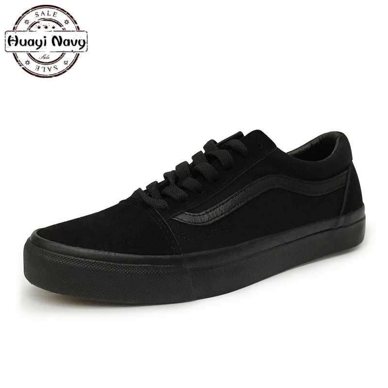 New Men's Fashion Black Canvas Casual Shoes High Quality Black Bottom Flats Breathable Walking Lace Up Skate Shoes 38-44 black lace details bell bottom pants