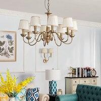 Все медные маленькие подвесные лампы в скандинавском стиле, лампа для кровати, абажур, современный ресторан, Балконная лампа, droplight