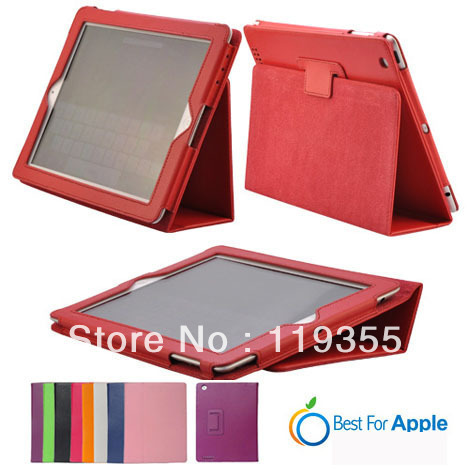 Fullbody Smart Cover Slim Magnetic PU Leather Stand Case Cover for ipad 234